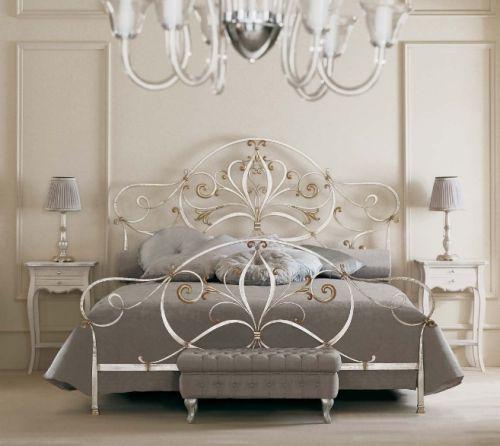 Schmiedeeiserne Betten sorgen für Luftigkeit und Eleganz in Ihrem .