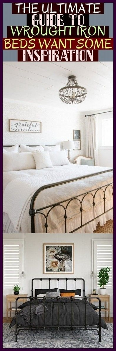 The Ultimate Guide To Wrought Iron Beds Want Some Inspiration .