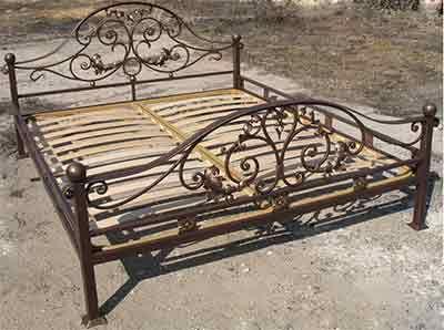 Schmiedeeiserne Betten