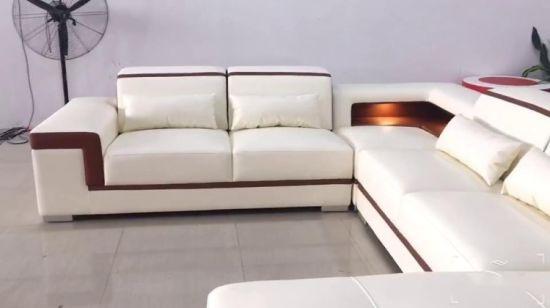 China Innenbereich Echte Dubai-Schlafsofa-Möbel, Schnitt, schwarze .