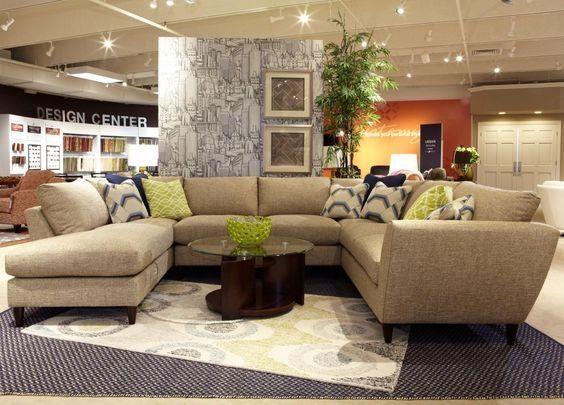 Tribeca Modernen Fünf Stück Sectional Sofa Mit Laf Liege Lazy Boy .