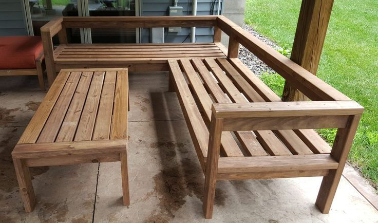 DIY #Kinda #outdoor #Schnittsofa #simple #Sorta #DIY #Outdoor .