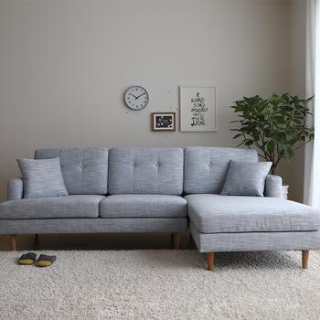 Mode Luxus Amerikanischen Schnitt Sofa Stoff Liege - Buy Schnitt .