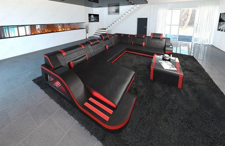 Plan Schnittsofa Detroit Lumineszenzdiode XL Shape #design .