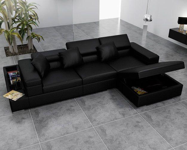Schnittsofa mit Bett und seinen Vorteilen | Ecksofas, Sofa und .
