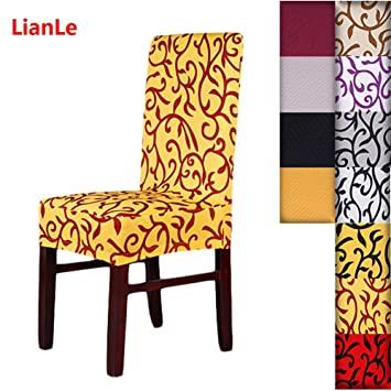 Amazon.de: Bezüge für Stühle bielastisch Deckung Stuhl Stretch .