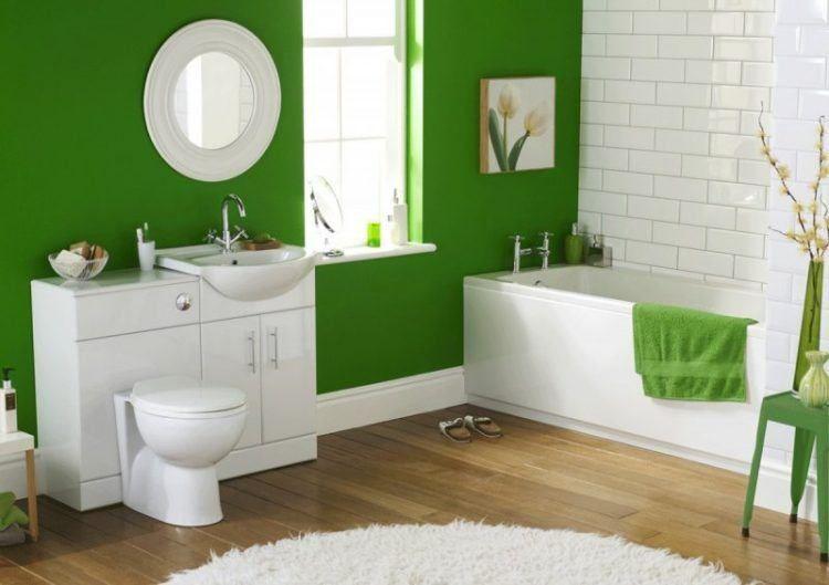 20 schöne Badezimmer mit Holzlaminatboden #Badezimmer .