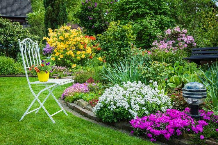 Beetgestaltung Ideen und hilfreiche Tipps für schöne Blumenbeete .