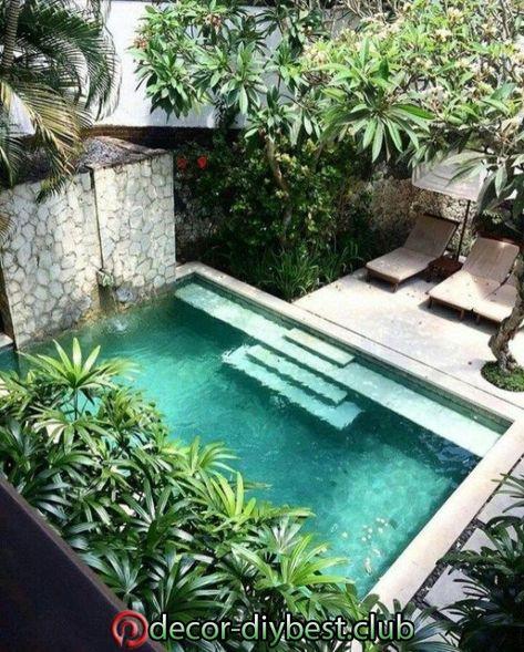 Schöne Pool-Garten-Design-Ideen 2 #design #garten #ideen #schone .
