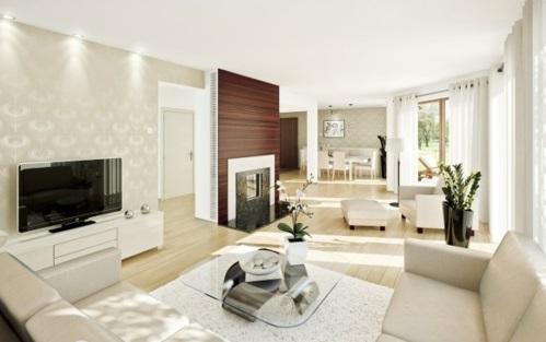 10 schöne Wohnzimmer Ideen - trendy und gemütli