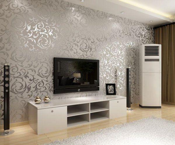 Schön schöne tapeten fürs wohnzimmer | Tapeten wohnzimmer, Tapeten .
