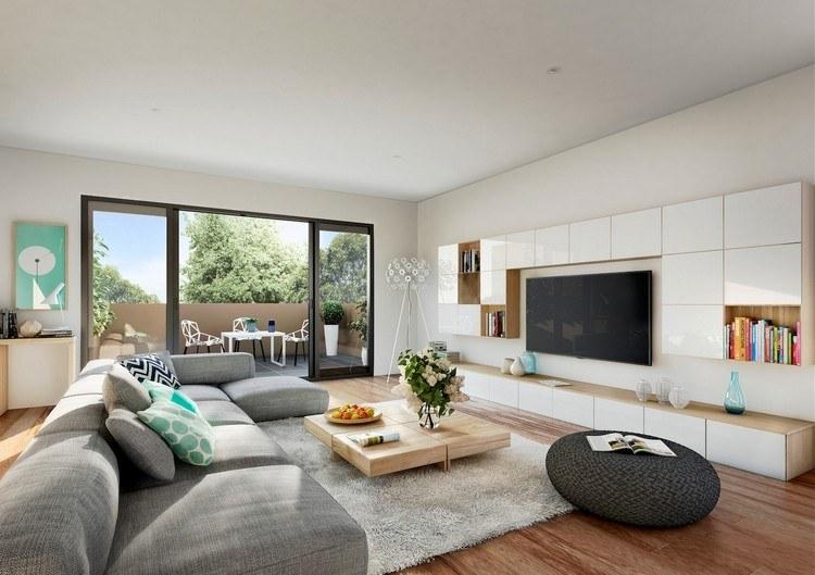 30 Wohnzimmer Ideen, schöne Einrichtungsbeispiele und Tip
