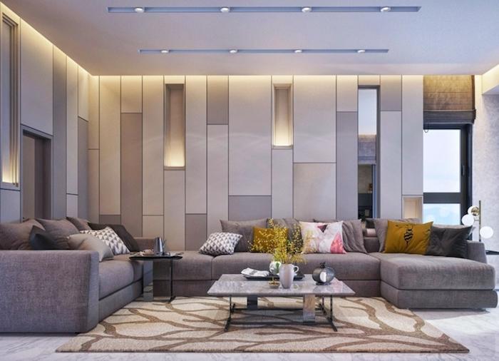 ▷ 1001 + ideen für moderne Wohnzimmer im 20