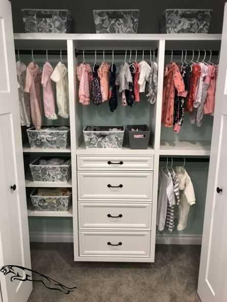 Nursery Closet Organization House 44 Ideen #organizationscloset .