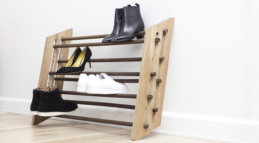 Schuhregal MOODSTAND von Roon & Rahn I HolzDesignP