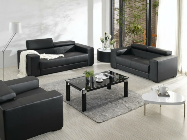 Ledersofa mit fantastischem Design - 83 Beispiele! - Archzine.n