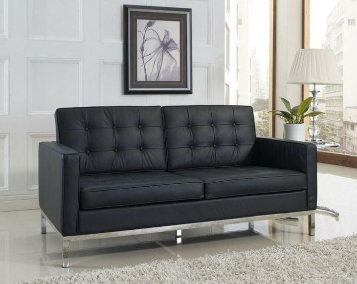 Bequeme Möbeloptionen und schwarze Loveeats | Kleines sofa, Sofas .