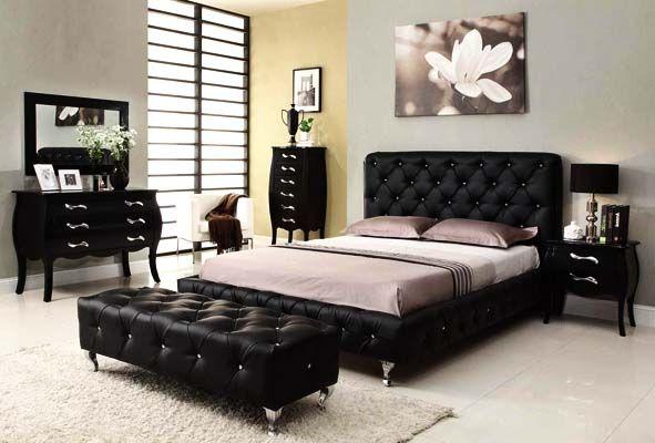 Schwarz Schlafzimmer Möbel #Schlafzimmermöbel #dekoideen .