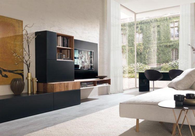 Schöne schwarze Wohnzimmermöbel   Wohnzimmer   Wohnzimmermöbel .