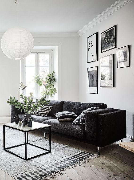 Wohnzimmer Möbel Schwarz   Schwarze wohnzimmermöbel, Schwarze .