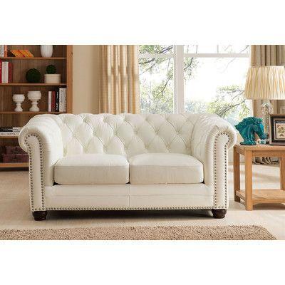 Amax Nashville Leather Loveseat   Sofas, Kleines sofa und Wohn