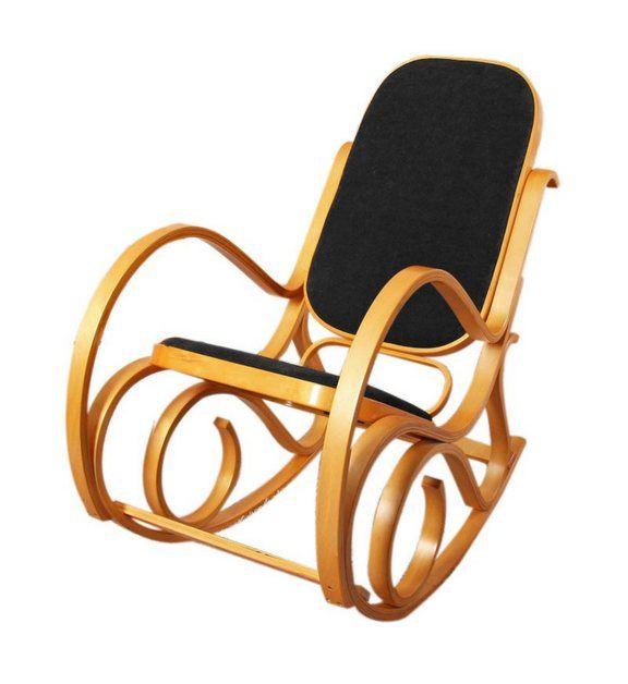 Schaukelstuhl »Gallarate mit Sitzpolster« | Schaukelstuhl, Stühle .