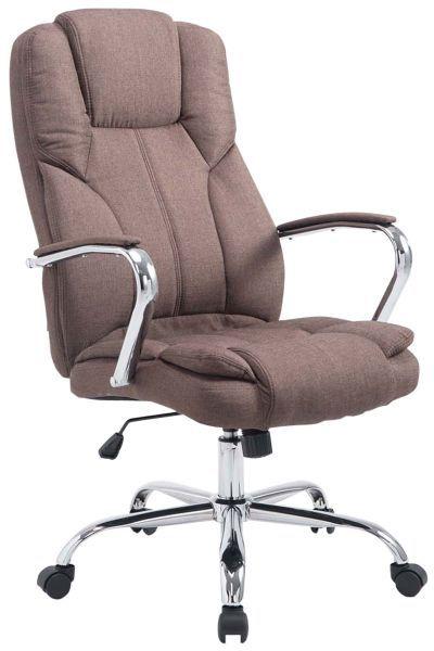 Bürostuhl BIG Xanthos Stoff, braun | Büromöbel | Stühle .