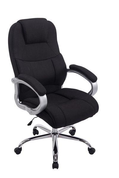 Bürostuhl BIG Apoll Stoff, schwarz | Drehstuhl, Bürostuhl .