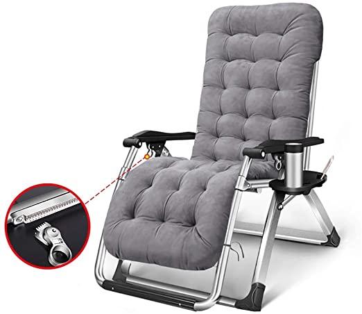 Deckchairs LXF Liegestühle Schwerelosigkeit Recliners w/Cup Tray .