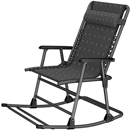 Amazon.de: WXF Schwerelosigkeit Patio-Nichtstuer-Stuhl, Faltender .