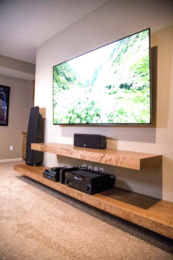 Diy TV-Ständer Ideen für Ihr Zimmer Interieur schöne schwimmende .