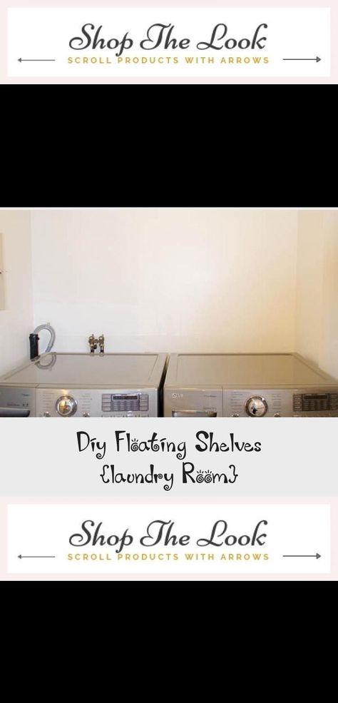 Diy schwimmende Regale Waschküche - Pinokyo#diy #pinokyo #regale .