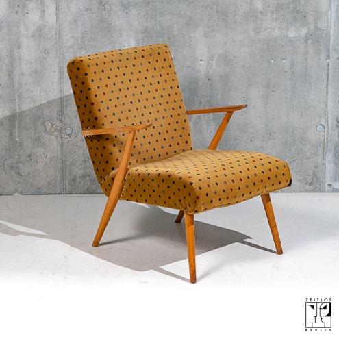 Fünfziger Jahre Sessel, Mid-Century Möbel, 19 - ZEITLOS – BERL