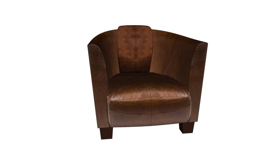 76948 Arm Chair Cigar Lounge (Sessel Cigar Lounge) | 3D Warehou