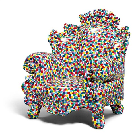 Miniatur-Sessel, Modell Poltrona di Proust by Alessandro Mendini .
