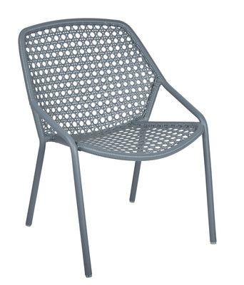 Croisette Stapelbarer Sessel / mit Kunststoff-Geflecht - Fermob .