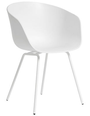 Sessel About a chair AAC26 von Hay - Weiß   Made In Desi