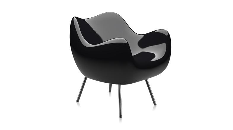 Sessel aus Kunststoff