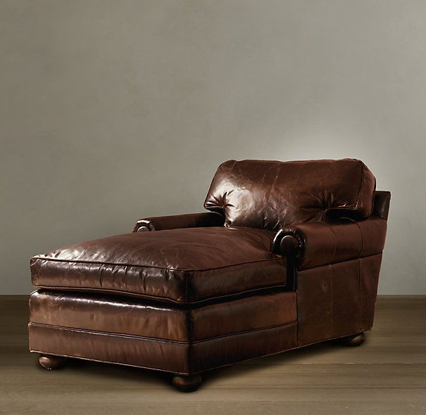 Original Lancaster Leather Chaise in 2020 | Lounge sessel .