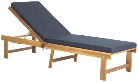Teakholz Chaise Lounge Sessel | Liegestuhl, Lounge sessel, Außenmöb