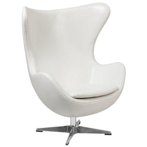 Weiße Leder Weiß Chaise Stuhl Kleinkind Lounge Sessel Kunststoff .