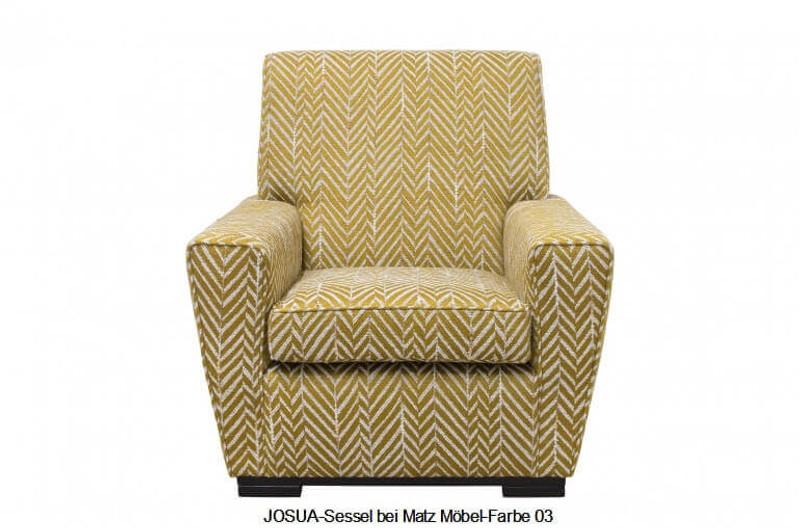 JOSUA-Sessel Fischgrat Muster   Matz Möbel - Vintage- & Designermöb