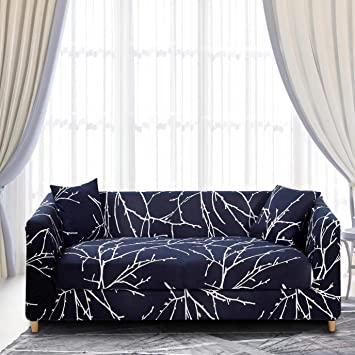 Amazon.de: ENZER Sofa Schonbezug Stretch Elastischer Stoff Blumen .