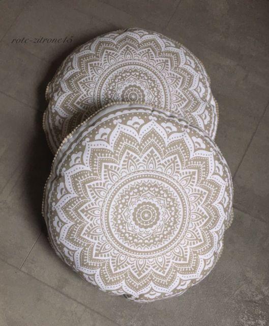 2 Kissen Mandala Muster Kopfkissen Bett Sofa Bett Sessel Neu .