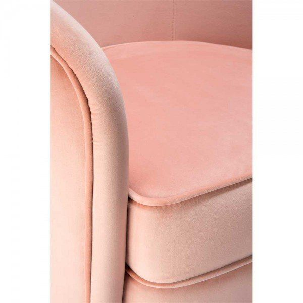 "Ethnicraft Sessel ""Swivel"" Samt (rosa) | Samt sessel, Sessel und Sa"