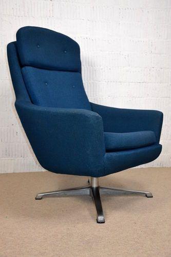 60s SESSEL Modern Designer LOUNGE EASY SWIVEL CHAIR Fauteuil .