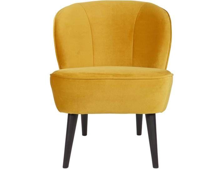 Woood Sara Sessel, Samtbezug ocker | Furniture, Swivel rocker .