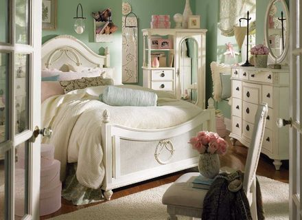 Schlafzimmer Shabby Chic Schlafzimmer Grün Kommode Nacht - Catcome