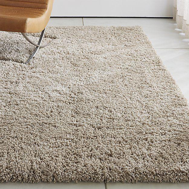 Memphis White Shag Rug | Crate and Barrel | Shag carpet, White .