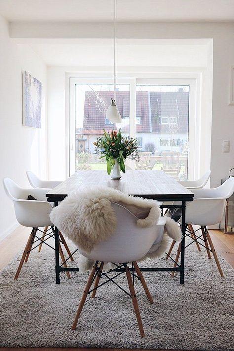 Der Stilmix macht es aus! Stühle im Skandinavischen Möbel Look .